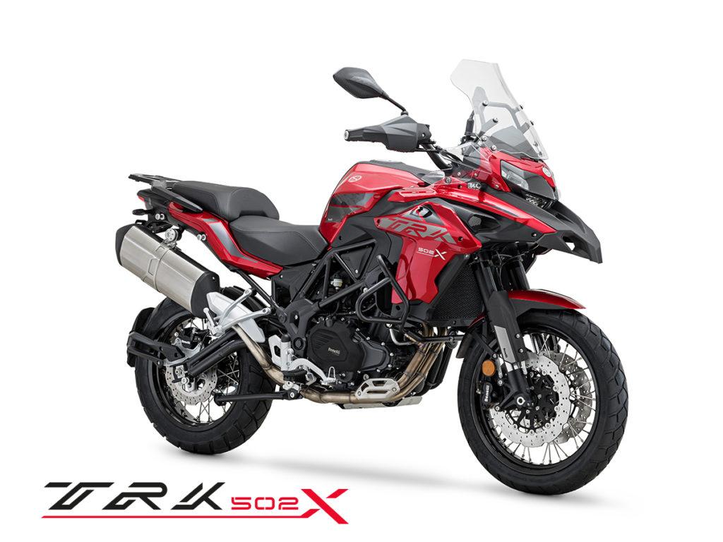 sezon 2020 benelli trk 502 x motor-land motocykle