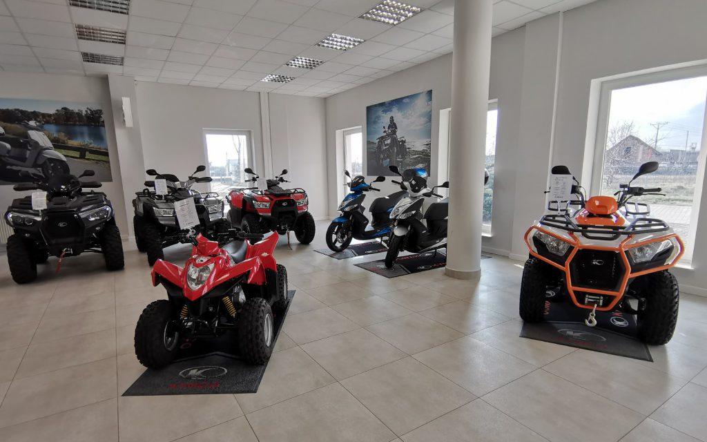 motor-land salon lomianki motocykle skutery quady rowery benelli keeway kymco niu marin