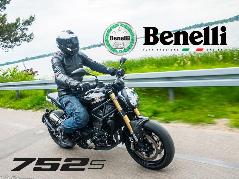 benelli 752 s motocykl motor-land nowość sezonu