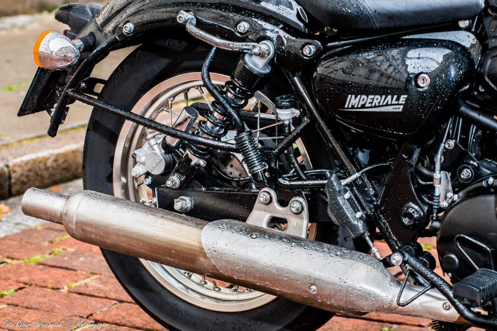 benelli imperiale 400 motocykl retro w nowoczesnym wydaniu