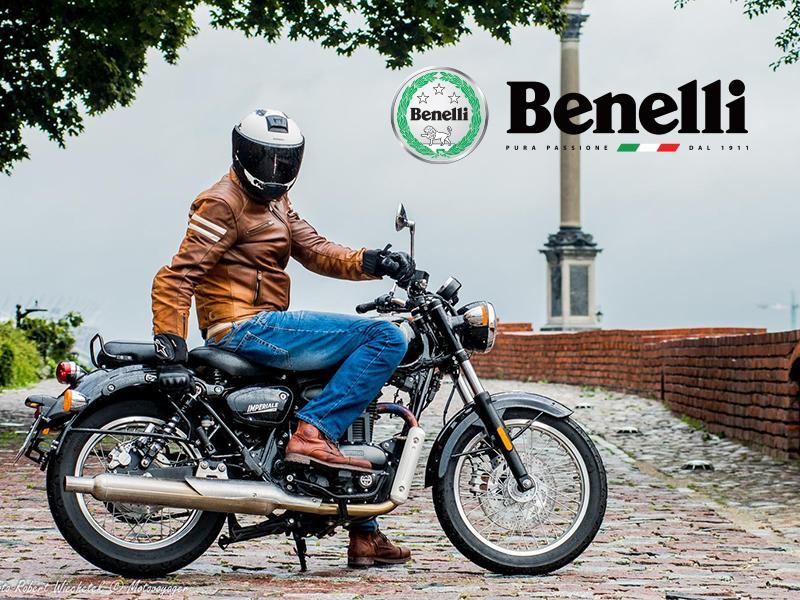 Benelli imperiale 400 motocykl retro w nowoczesnym wydaniu klasyk motor-land