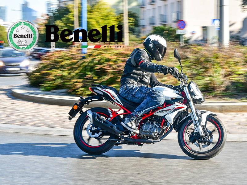 benelli bn 125 motocykl naked motor-land