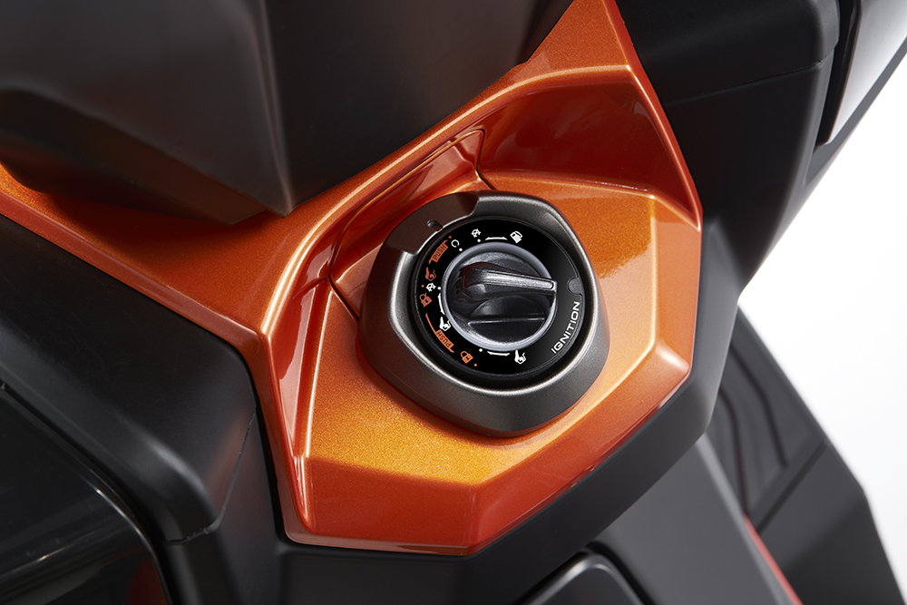kymco dt x360 skuter adventure motor-land