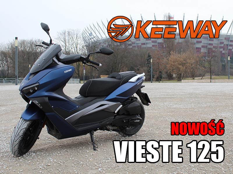 vieste 125 keeway skuter motor-land nowosc 2021