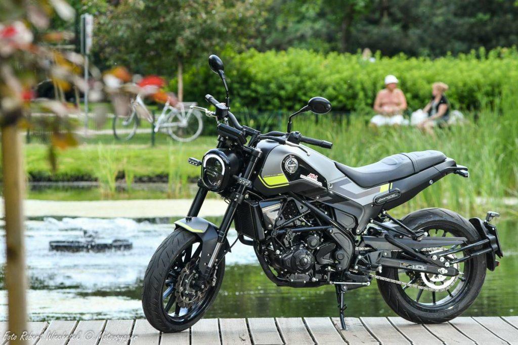 benelli leoncino 250 motocykl pesaro motor-land