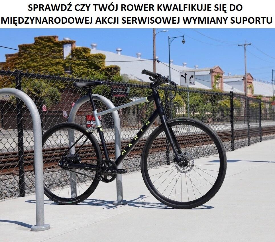 Międzynarodowa akcja serwisowa Marin Bikes na wymianę suportów w określonych rowerach 1