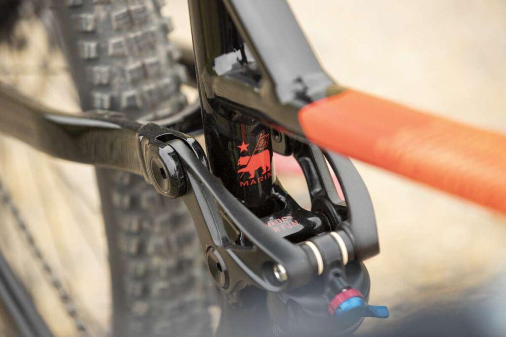 zawieszenie multitrac w rowerach marin bikes motor-land